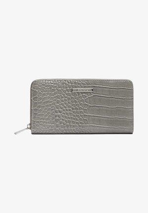 MIT REISSVERSCHLUSS - Peněženka - grey