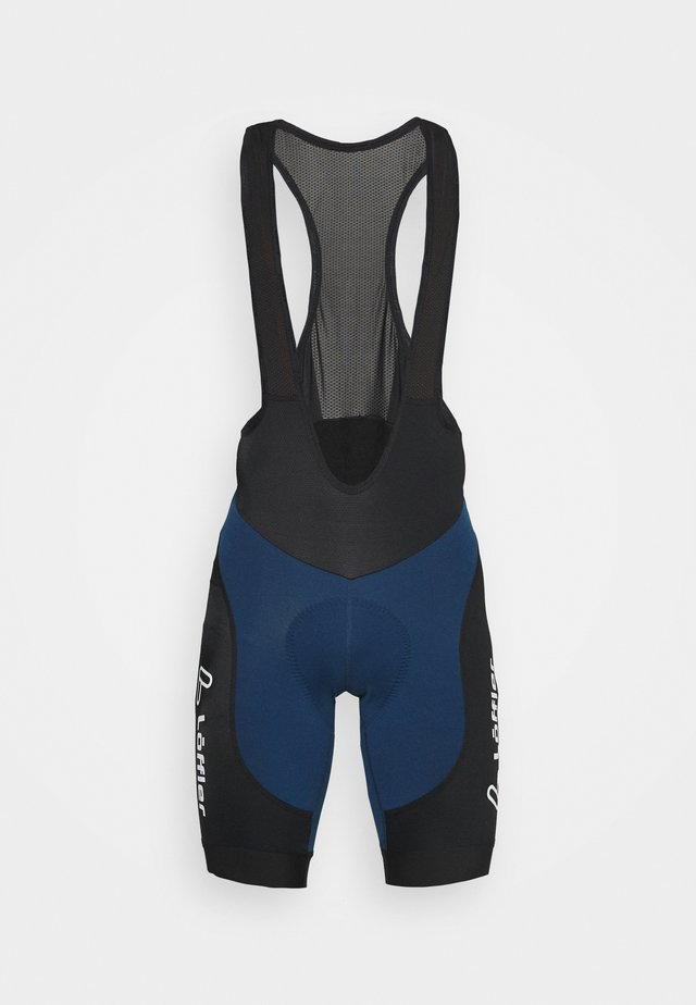 BIKE BIB SHORTS WINNER - Legging - deep water