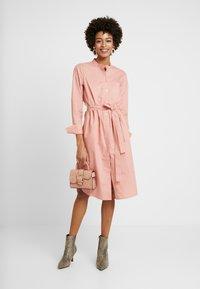 Part Two - LULU DRESS - Skjortekjole - rose dawn - 1