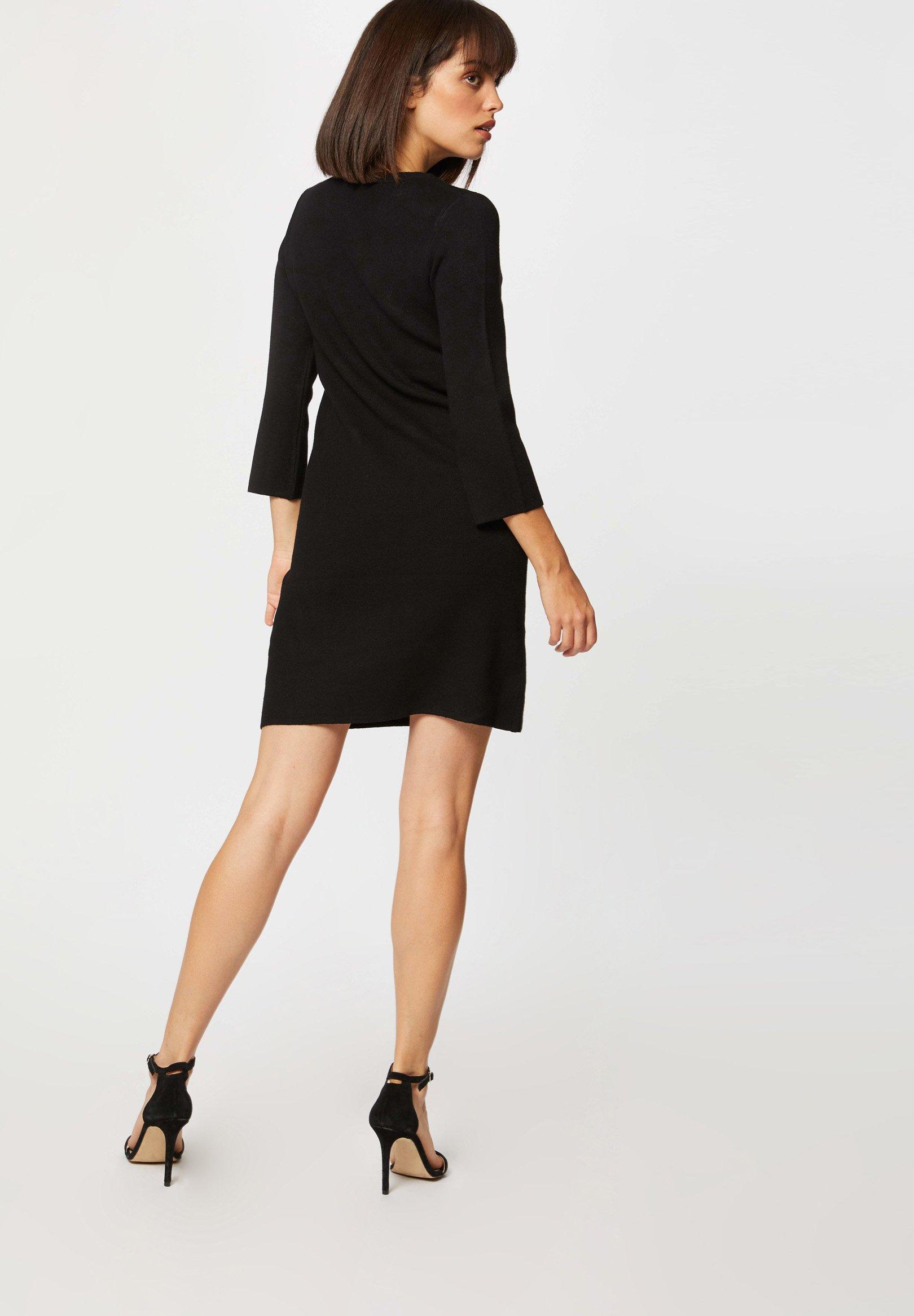 Mujer STRAIGHT  WITH ZIPPED DETAILS - Vestido de punto