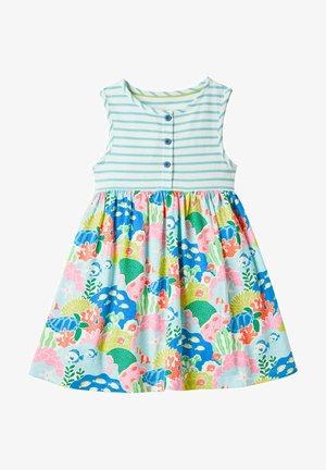 MUSTERMIX - Jersey dress - bunt, korallenriff