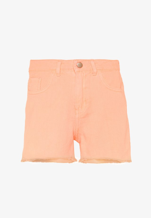 NKFRANDI MOM TWIIZZA CAMP - Denim shorts - peach nectar