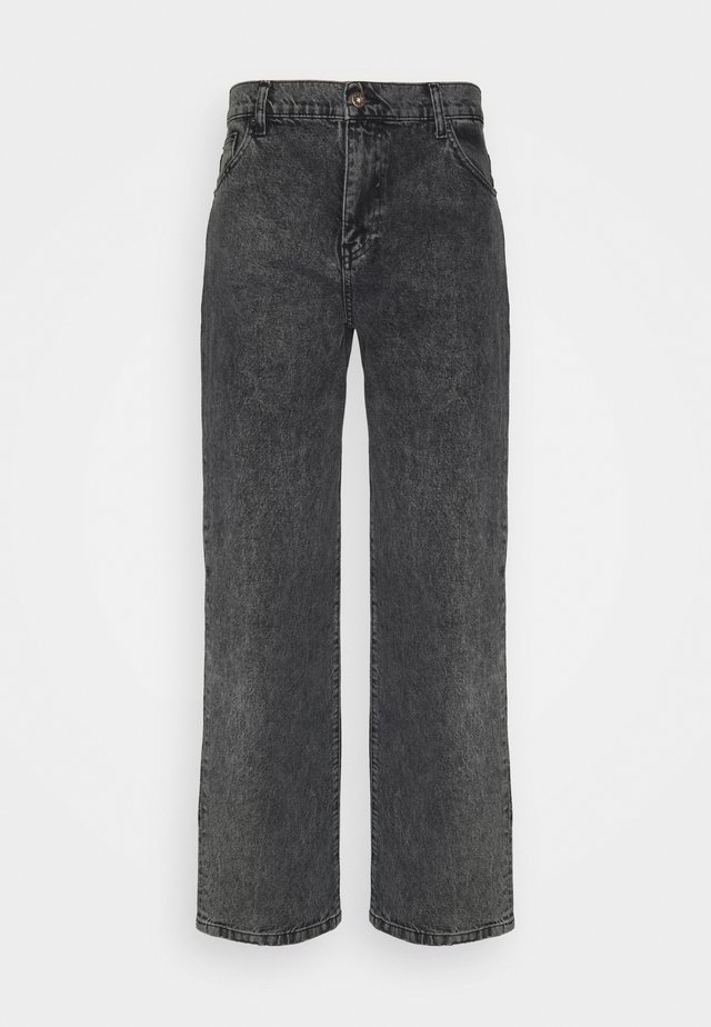 LEROY THUN  - Relaxed fit jeans - black
