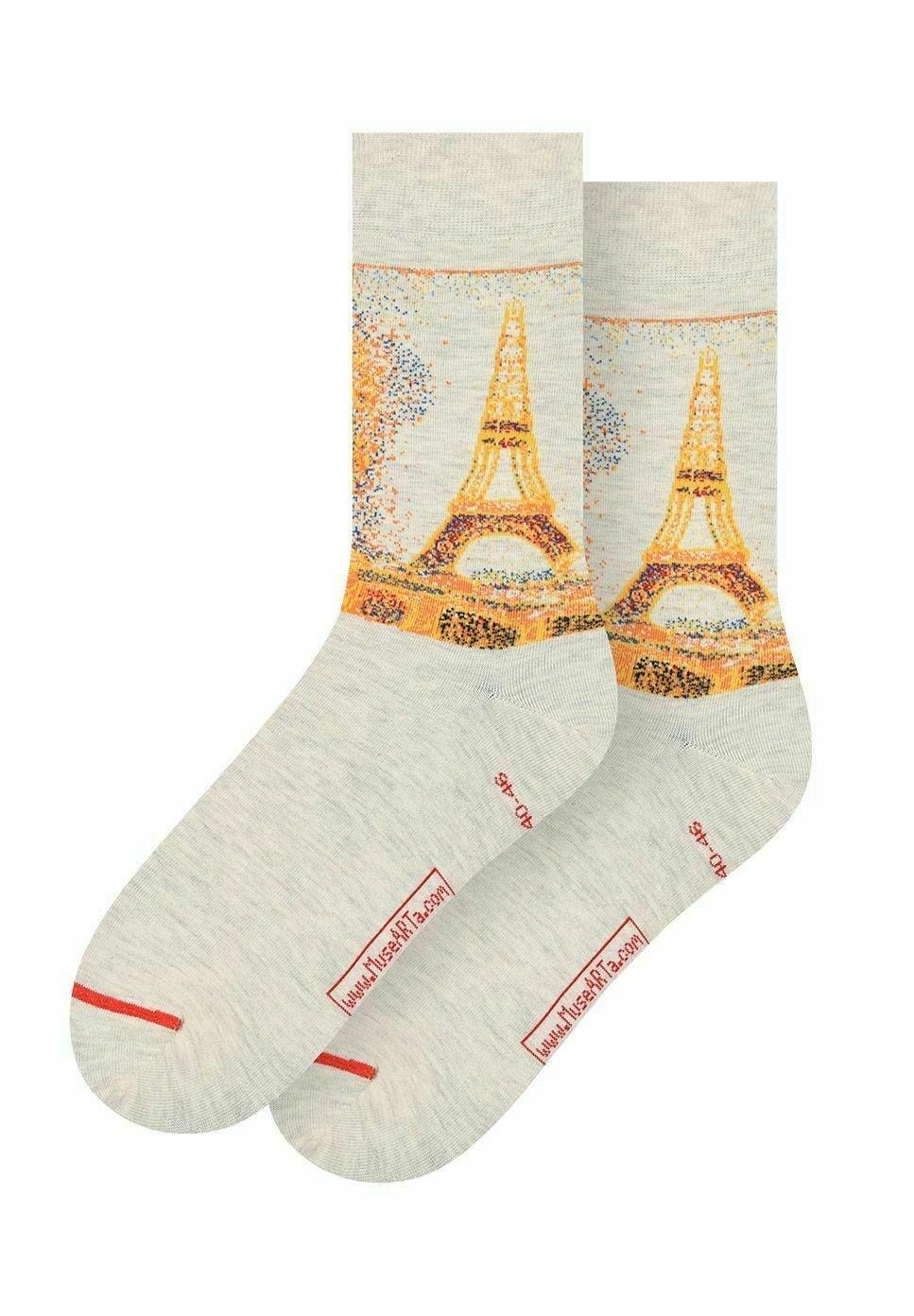 Femme GEORGES SEURAT: EIFFEL TOWER - Chaussettes