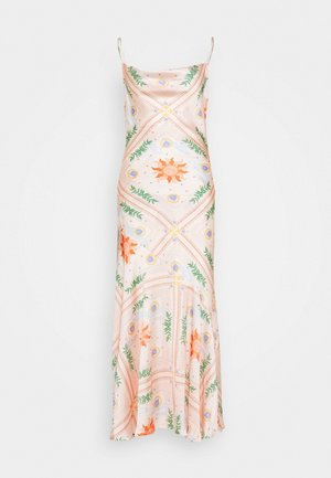PEACH SUNSHINE MYA DRESS - Cocktailklänning - peach