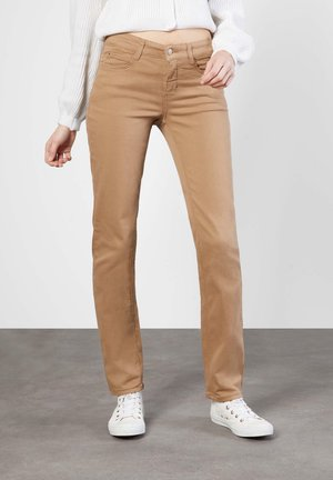 Straight leg jeans - light cognac ppt