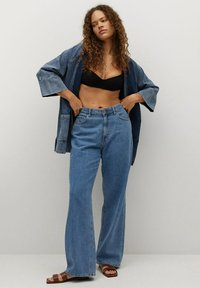 Violeta by Mango - Denim jacket - mittelblau - 1