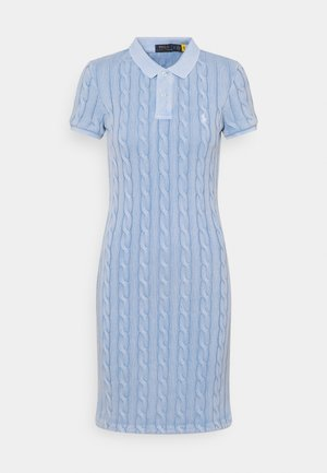 Sukienka dzianinowa - chambray blue