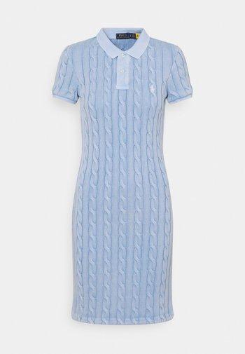 Jumper dress - chambray blue