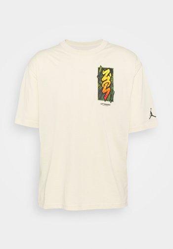 ZION TEE - T-shirt con stampa - beach/black