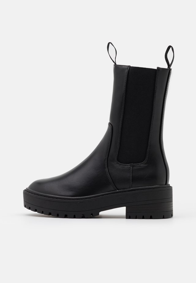 ONLBRANDY BOOT  - Plateaustøvler - black
