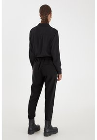 PULZ - PXVICTORIA SPECIAL FAIR OFFER - Trousers - black beauty - 2
