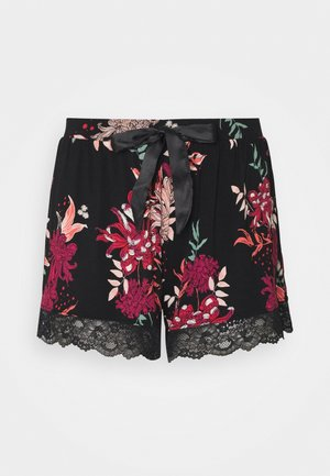 SHORT DAHLIA - Pyjama bottoms - black
