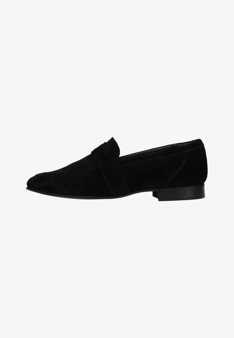 Manfield - Slip-ons - black/black