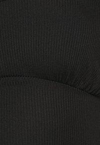 Missguided - CAMI CROP - Top - black - 4