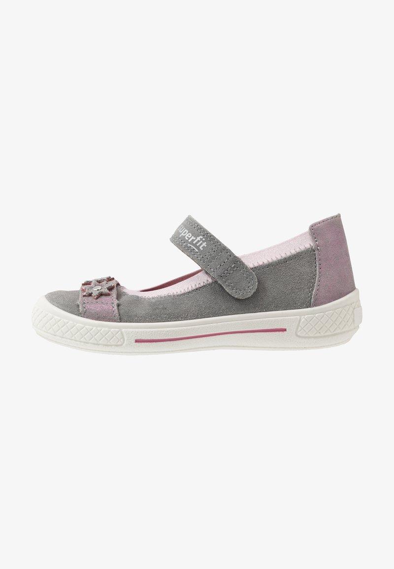 Superfit - TENSY - Ankle strap ballet pumps - grau