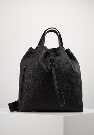 NAUTILIUS DRAWSTRING BAG - Tote bag - black