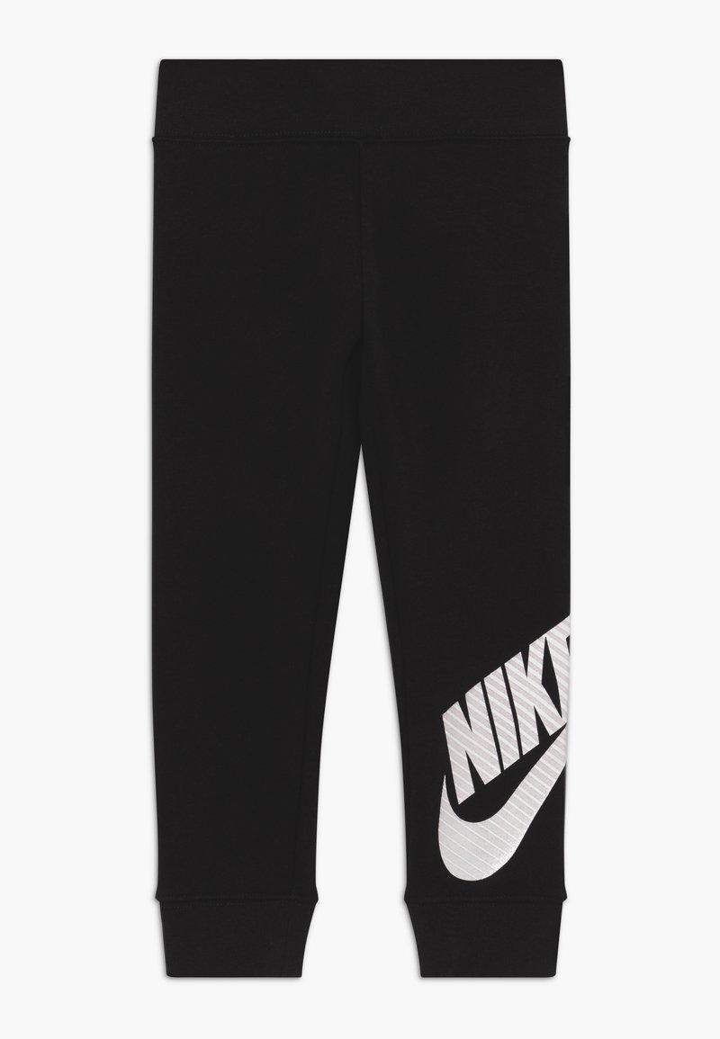 Nike Sportswear - FUTURA - Spodnie treningowe - black