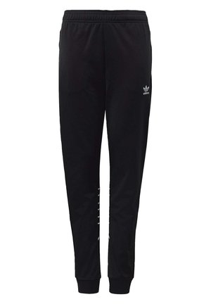 LARGE TREFOIL TRACKSUIT BOTTOMS - Verryttelyhousut - black