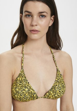 PILGZ - Bikini top - yellow mini flower