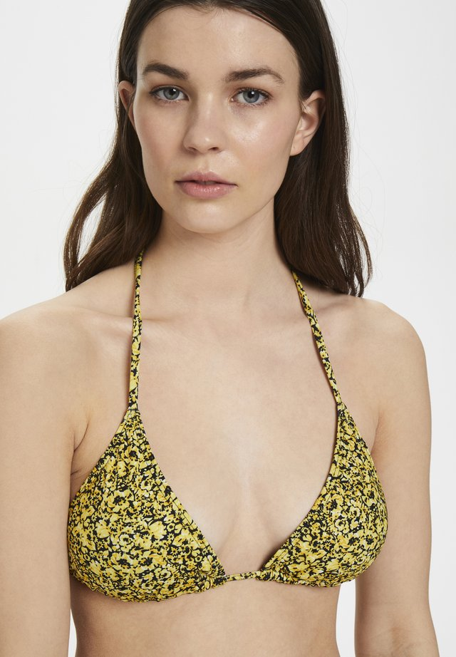 PILGZ - Haut de bikini - yellow mini flower