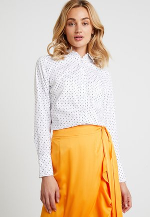 RILEY MICRO DOT - Koszula - white