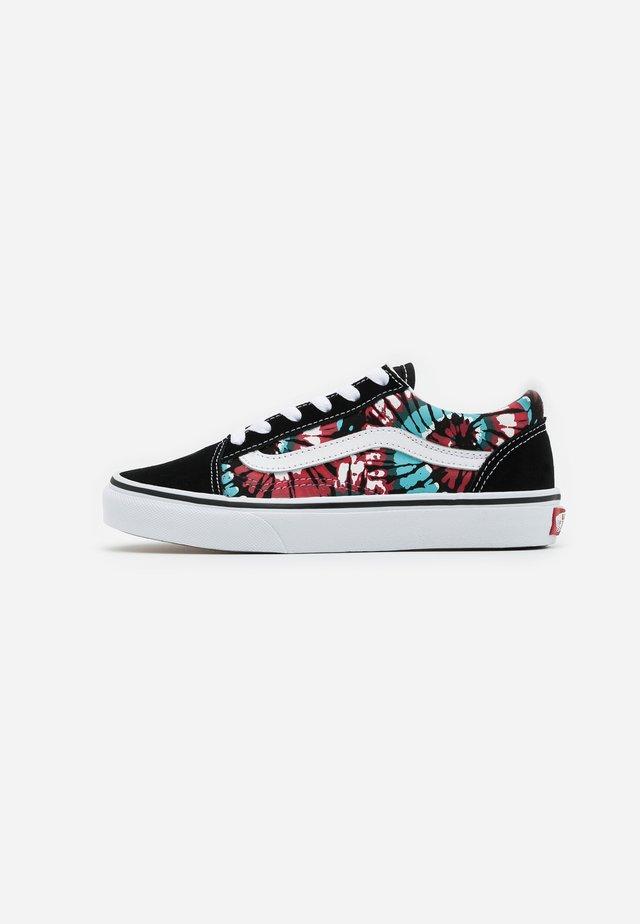 OLD SKOOL EXCLUSIVE - Sneakers laag - black/multicolor/true white