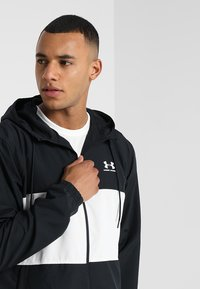 Under Armour - Training jacket - black/onyx white - 3