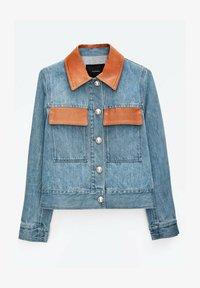 Uterqüe - Denim jacket - blue - 6