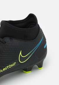 Nike Performance - PHANTOM GT ACADEMY DYNAMIC FIT MG - Moulded stud football boots - black/cyber/light photo blue - 5