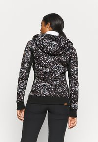 Roxy - FROST PRINTED - Fleece jacket - true black izi - 2