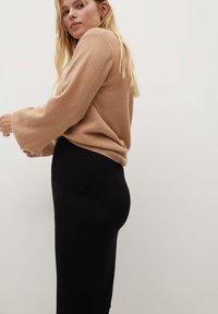 Violeta by Mango - AUS PONTE-DI-ROMA - Pencil skirt - schwarz - 3