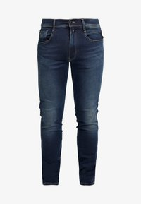 Replay - ANBASS HYPERFLEX - Slim fit jeans - dark blue - 4