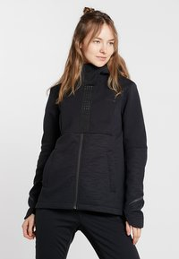 Vaude - WOMEN'S CYCLIST WINTER JACKET - Softshellová bunda - black - 0