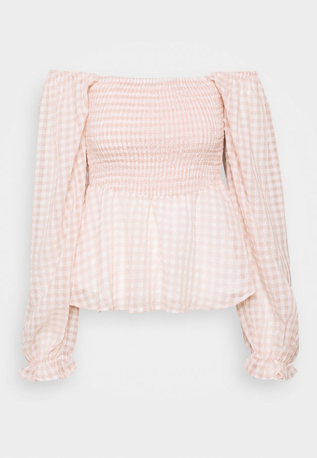 UMILINA BLOUSE - Bluser - dusty pink