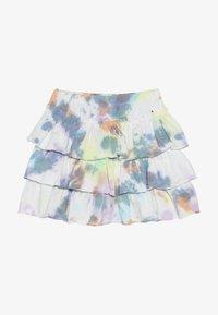 Molo - BELL - Áčková sukně - white/multi-coloured - 2