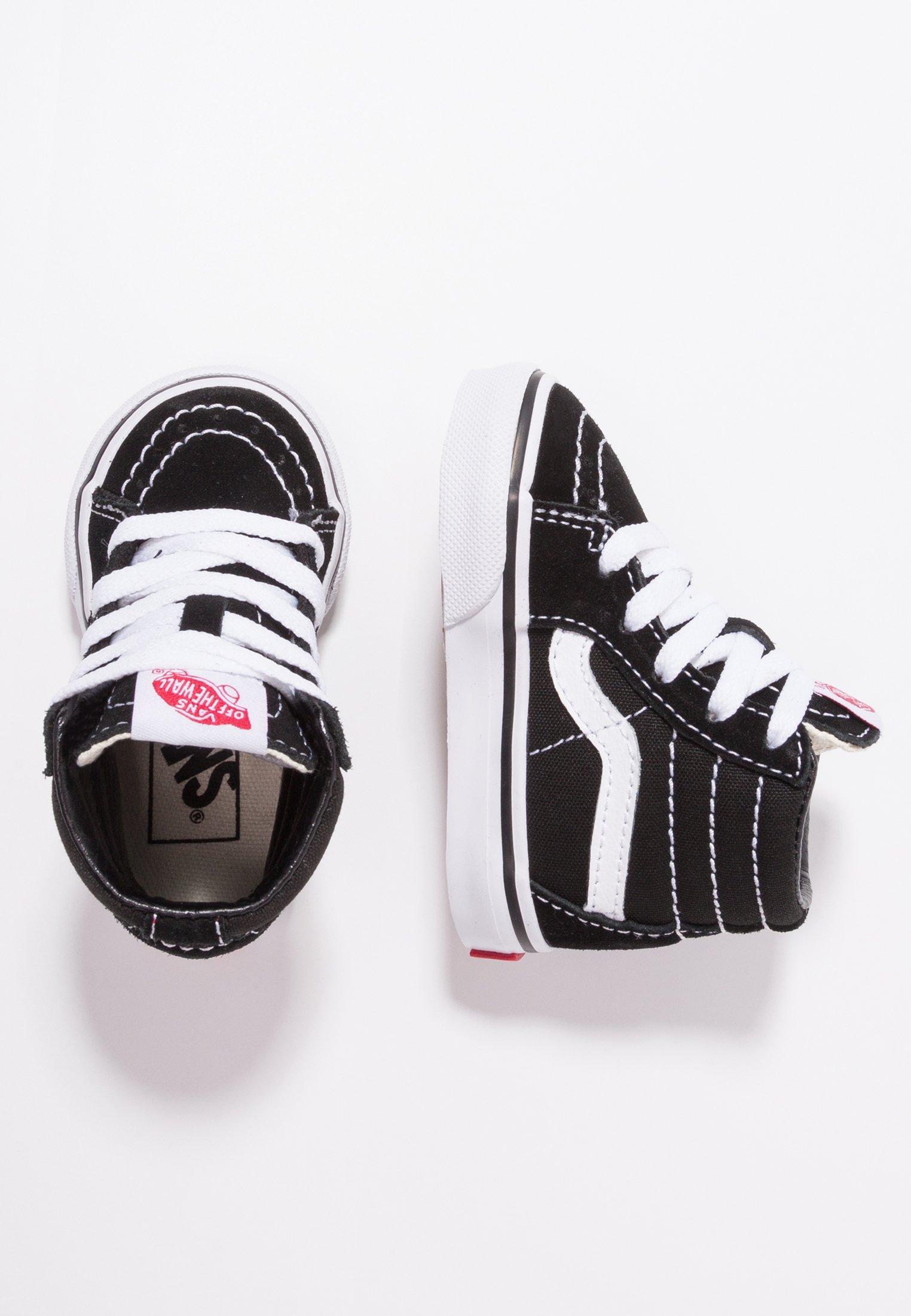 Bienvenido Alaska Adiccion  Vans TD SK8 - Zapatos de bebé - black/true white/negro - Zalando.es