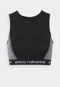 Paco Rabanne - Top - black/white - 6