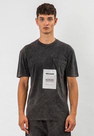 Print T-shirt - grey  wash
