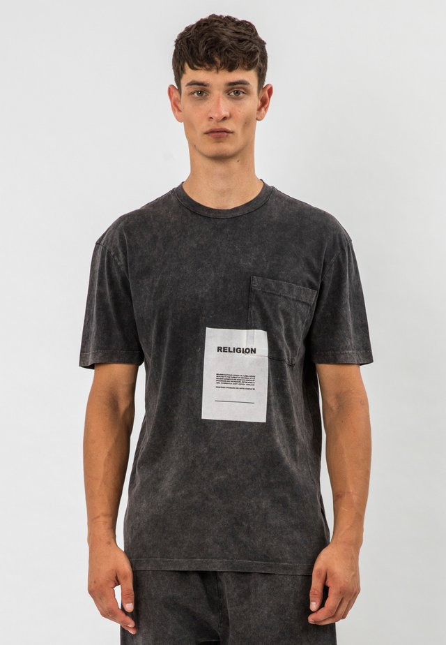 ACID  - T-shirt con stampa - grey  wash
