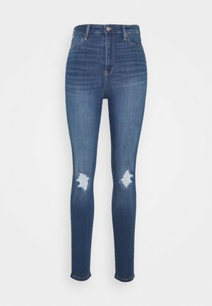 CURVY KNEE - Jeans Skinny Fit - blue denim