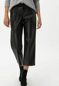 BRAX - STYLE MAINE S - Trousers - black - 0