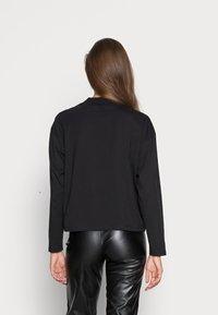 Calvin Klein Jeans - Long sleeved top - black - 2