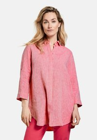 Gerry Weber - Button-down blouse - rasberry melange - 0