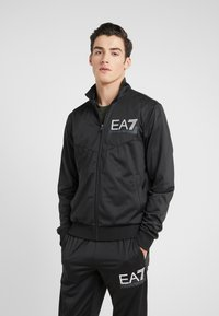 EA7 Emporio Armani - TRACKSUIT - Tracksuit - black - 2