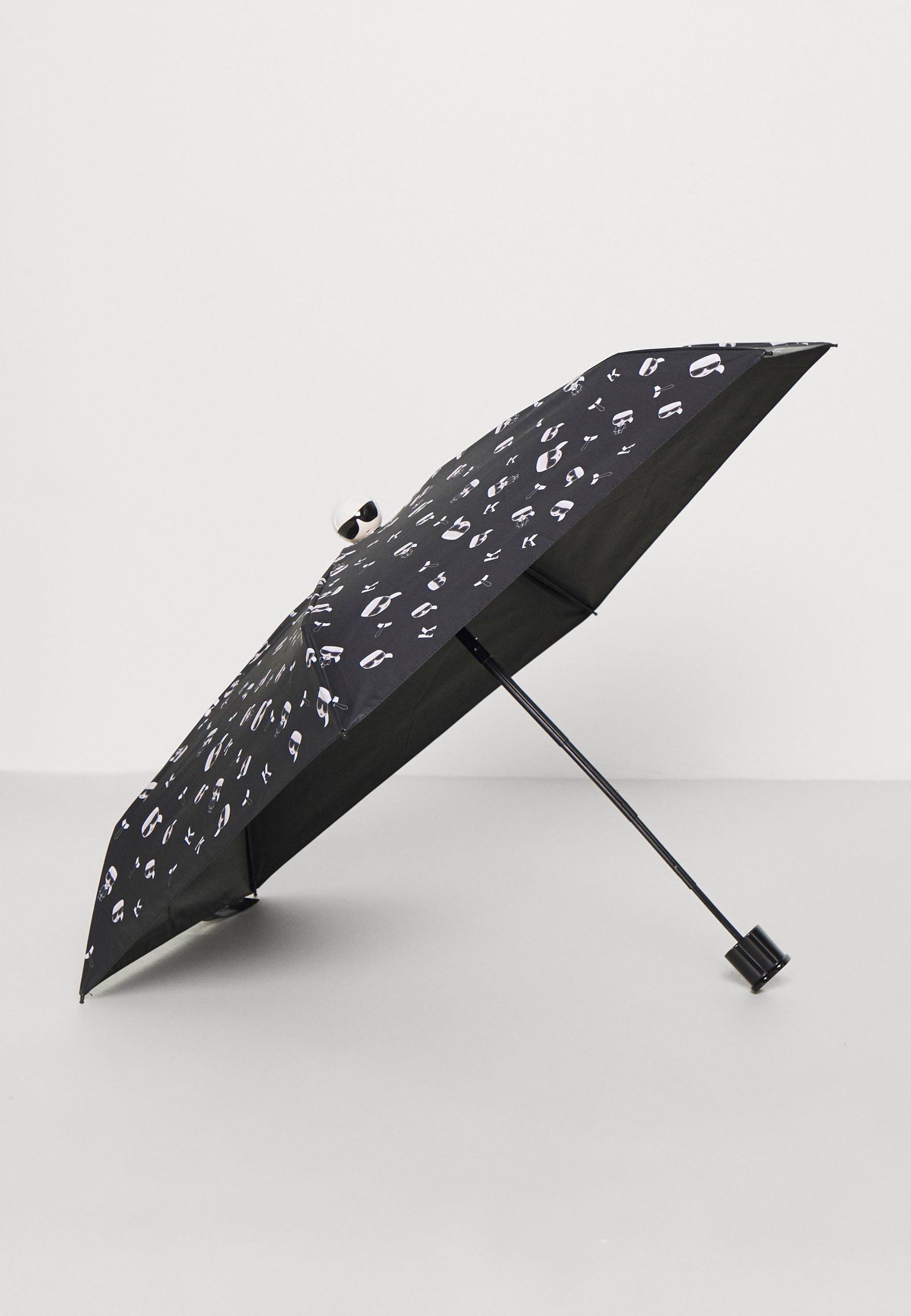 High-Quality Cheap Exclusive Accessories KARL LAGERFELD IKONIK UMBRELLA Umbrella black SQQSqkikL zzyfHckCg