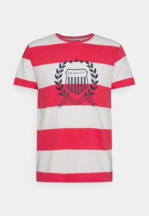CREST - Print T-shirt - paradise pink