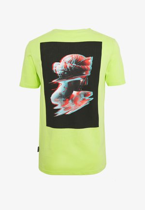 T-shirt z nadrukiem - green