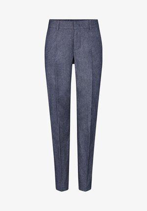 Trousers - navy blau