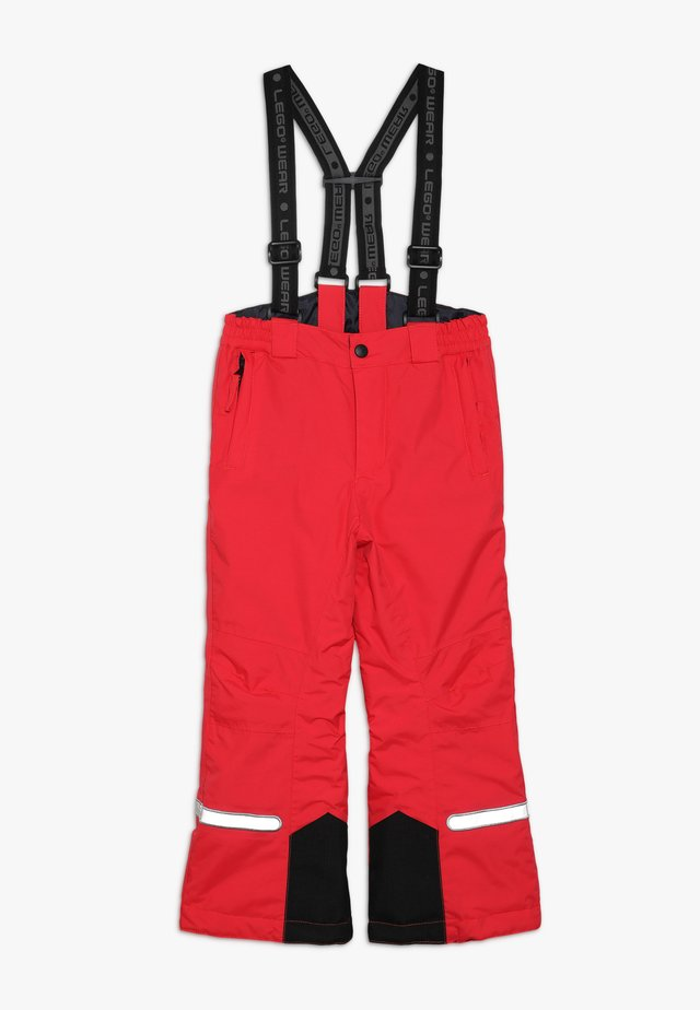 PLATON 709 SKI PANTS - Pantalon de ski - red